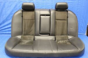 2004 Cadillac Cts v 5 7l V8 Z06 Ls6 Oem Leather suede Rear Seats wear 1172