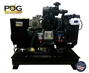 25 Kw Diesel Generator Yanmar W 50 Gallon Tank Epa Tier 4f Mobile Or Stationary