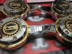 Zenith Gold Locking Wire Wheel Knock Off Spinners Gold Zenith Rings gold Chips