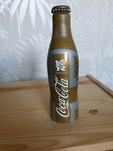 Coca Cola Aluminium Bottle London 2012 Olympics Limited Edition Unopened MINT