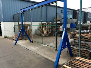 Slightly Used 2 Ton Hoist And Frame Structure