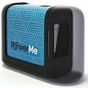 Powerme Electric Pencil Sharpener Battery Operated no Cord For blue