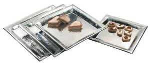 American Metalcraft Hmsq16 Hammered Tray 16 X 16 In