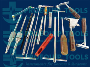 Dhs Dcs Orthopedic Instruments Complete Set Stainless Steel Pemium Quality