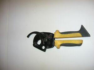 Ideal 35 053 750 Mcm Ratcheting Cable Cutter Used