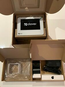 Clover Mini C301 3g Cc Terminal Attached Printer Accessories Kit And Stand