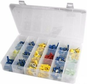 Large Wiring Crimp Connector Solderless Terminal Assortment Kit