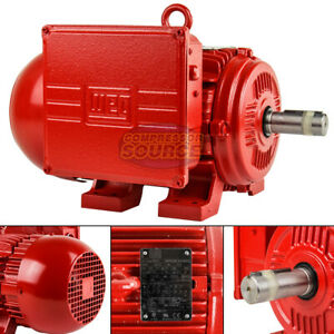 2 Hp Electric Motor W182 4t Frame 1725 Rpm Single Phase Farm Duty Air Compressor