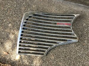1941 Dodge Grill Driver Side With Luxury Liner Name Badge D19 899507 Grille