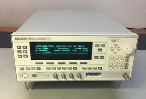 Hp 83623b Sweeper Signal Generator 10 Mhz 20 Ghz 001 008 Calibrated