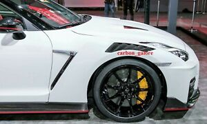 2020 Nismo Gtr R35 New Release Carbon Fiber Front Fender Vents For All Models