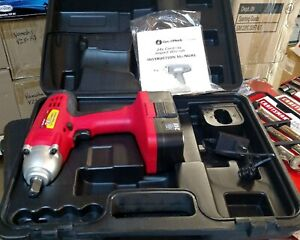 Great Neck 1 2 Cordless 24v Impact Wrench W battery Charger In Carrying Case
