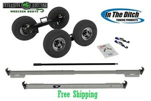 Tow Dolly Itd2890 Greasable Hub Wrecker Tow Truck Rollback Rotator