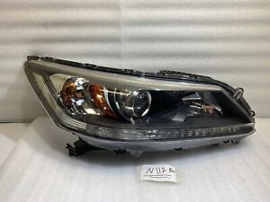 2013 2014 2015 Honda Accord Sedan Halogen Headlight Right Passenger Side Oem Rh
