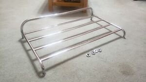 Oem Vintage Mg Triumph Fiat Sunbeam Complete Chrome Luggage Rack
