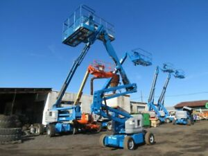 2007 Genie Z45 25 45 Electric Articulating Boom Lift Man Scissor