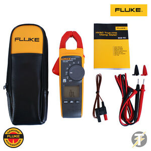 Fluke 902 Fc True rms Hvac Clamp Meter With Case And Leads
