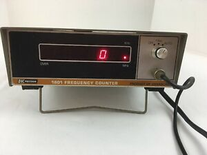 B k Precision 1801 Frequency Counter Ham Radio Vintage Tested Powers Up Guc