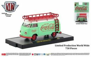 M2 Machines Coca Cola Release A01 1960 VW Delivery Van CHASE