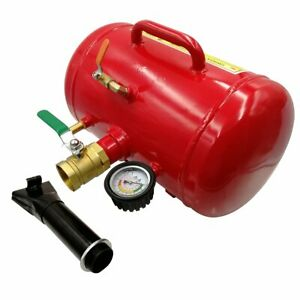 Updated 5gallon Air Tire Bead Seater Blaster Seating Inflator Tool Truck Atv Red