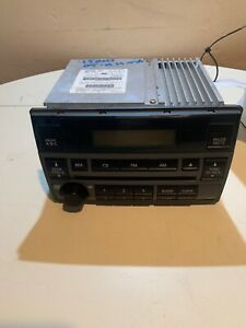 2005 2006 Nissan Altima Cd Player Single Disc Am Fm Radio 28185 Zb10a 3 5l Only