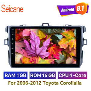 Car Multimedia 9 Android 8 1 For 2006 2007 2008 2009 2010 2012 Toyota Corolla