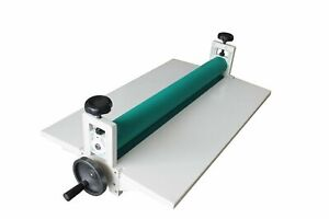 25 5in 650mm Manual Cold Roll Laminator Film Laminating Machine Us Office