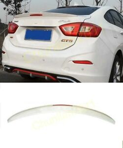 Factory Style Spoiler Wing Abs For 2016 2018 Chevy Chevrolet Cruze 4dr Sedan