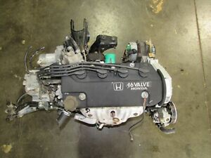 Jdm Honda Zc Sohc Engine And 5 Speed Transmission 1 6l Civic Non Vtec
