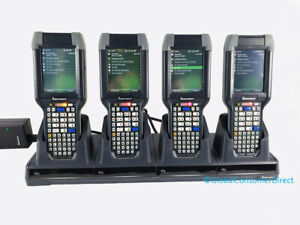 Lot Of 4x Intermec Ck3 Ck3b Ck3b20n00e100 Wm6 1 1d 2d Laser Barcode Scanner