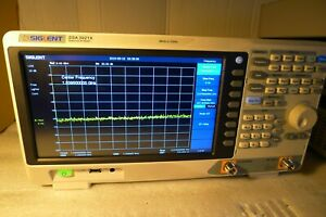 Siglent Ssa3021x Spectrum Analyzer 9 Khz Up To 2 1 Ghz