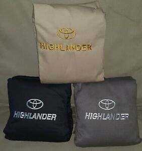 Toyota Highlander 2014 2020 3 Rows Seat Covers Full Set