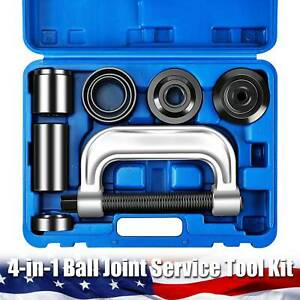 4 In 1 Ball Joint Service Auto Tool Set With 4 Wheel Drive Adapters