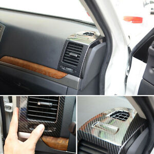 Abs Inner Side Air Vent Outlet Trim For Mitsubishi Pajero Montero Limited 07 19