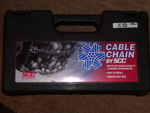 Cable Tire Chains Security sc1030 195 75 15 205 45 16 215 45 17 215 45 17