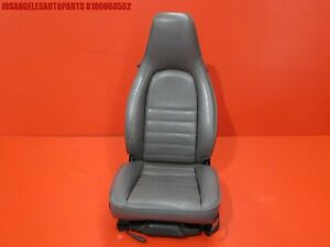 Porsche 911 993 944 968 Right Gray Leather Power Seat W Switches