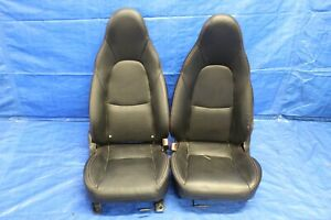 2004 04 Mazda Miata Speed Mx 5 Turbo Oem Leather Lh Rh Front Seats wear 6032