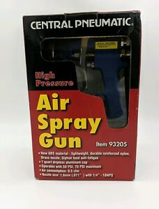 Air Spray Gun High Pressure Central Item 93205