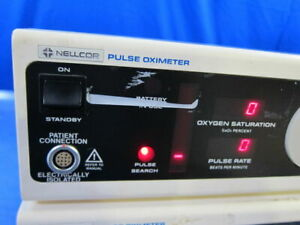 Nellcor N 100c Pulse Oxymeter Patient Monitor