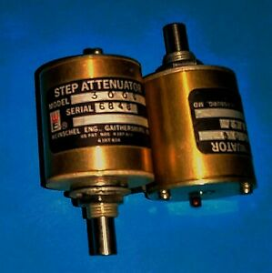 Weinschel Step Attenuator 3006 Lot Of 2 Free Shipping