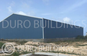Durobeam Steel 100x100x22 Metal Building Kit Prefab Clear Span Structures Direct