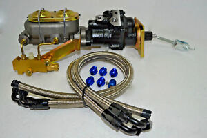Hydro Boost Power Brake Booster Kit Chevy Hot Rod Muscle Car Rat Rod