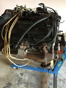 Engine 98 1998 Chevy 1500 5 7l V8 350 Motor 150k Miles Vortec Stand Included