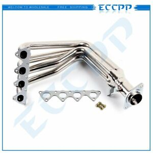 Stainless Racing Manifold Header exhaust For Integra Gsr type r Civic Si B18 4 1