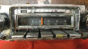 1967 67 Pontiac Gto Lemans Tempest Oem Gm Delco Am fm Radio Serviced W Warranty