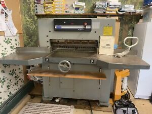 30 Inch Challenge Paper Cutter With 2 Blades