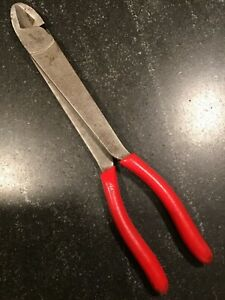Snap on Tools Heavy duty 11 Inch Diagonal Cutter 312cp made In U s a free Ship