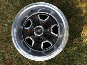 Oldsmobile 442 Rally Wheel 15x7 1 Wheel Takes A Snap On Center Cap