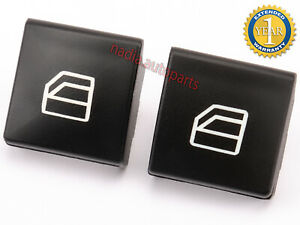 2x Switch Button Window Cover For Mercedes W204 Driver Side