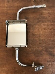 Vintage Pickup Truck Chrome Side Mirror